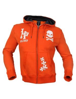 CHOPPER SKULL HOODIE Orange