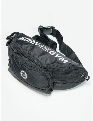 LIVE AND FIGHT BUM BAG - Classic Black