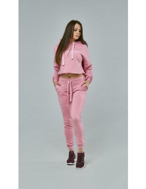 WOMEN`S PANTS DIRTY PINK