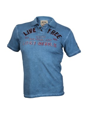 LIVE FREE Blue