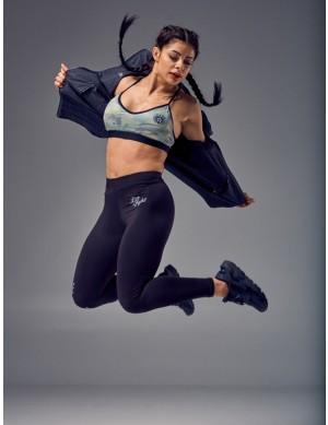 Women's Sports Bra - INCOGNITO camo&black
