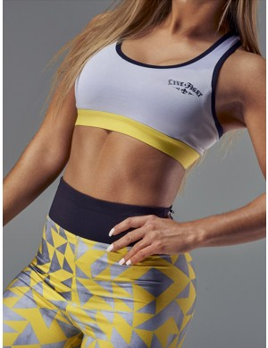 Women's Sports Bra - TEMPO gray
