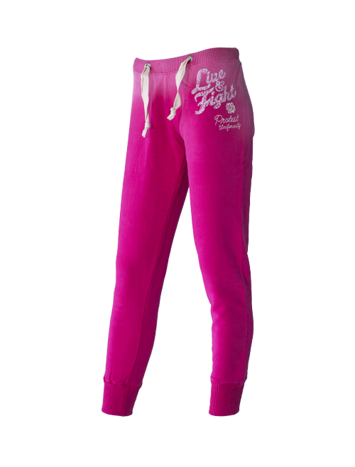 WOMEN'S PANTS - RED ROSE Rasberry