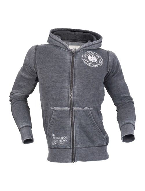 EAGLE MEN'S ZIPPER HOODIE