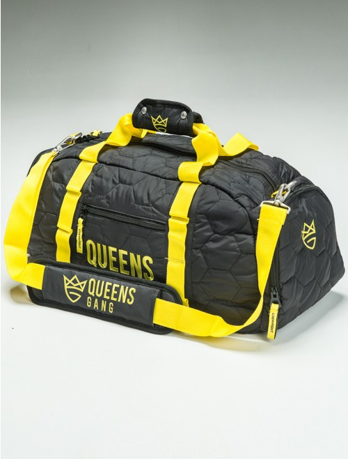 QUEENS BAG - Women`S Duffel NEON&BLACK