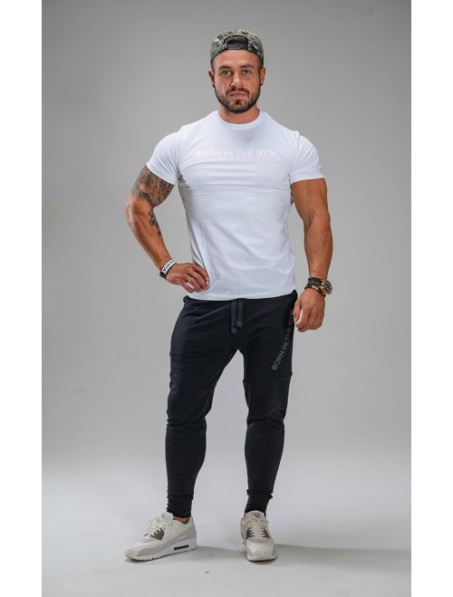 MEN'S T SHIRT GLOSSY WHITE