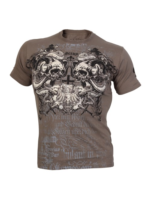 SCREAMING SKULLS Gray