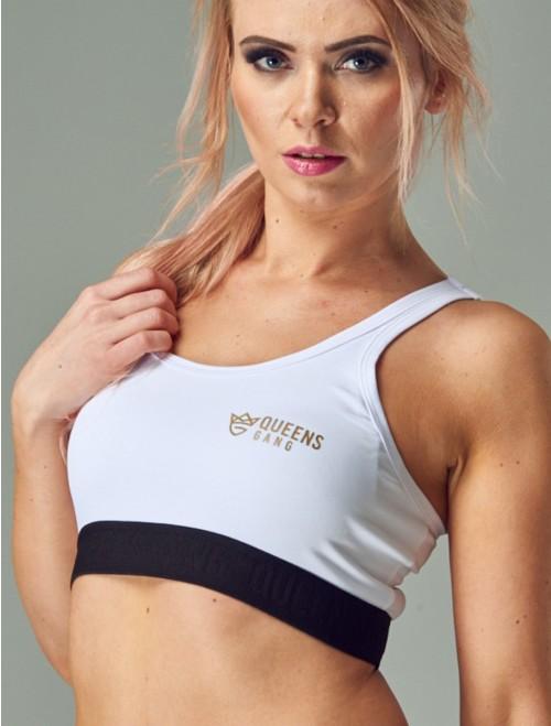 Women's Sports Bra - CLASSIC white