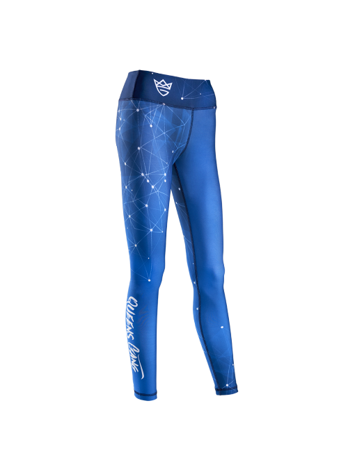 WOMEN'S LEGGINGS - GALAXY blue