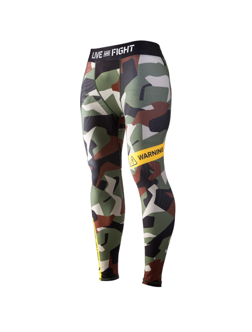 MEN'S LEGGINGS - ATHLETIC CAMO Classic