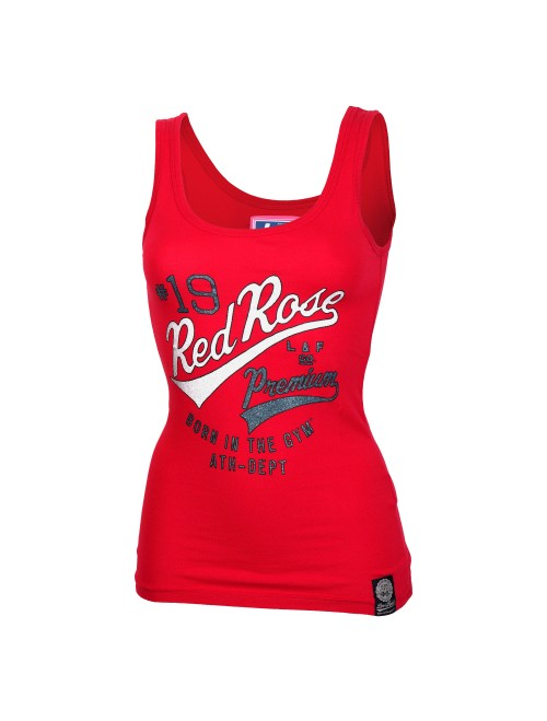 PREMIUM WOMENS TANK TOP Red