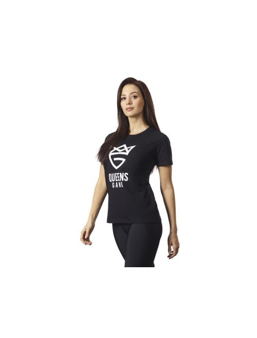 WOMEN'S T-SHIRT PURE BLACK