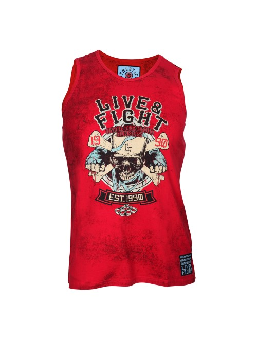 BLOODY KNUCKLES VEST Red