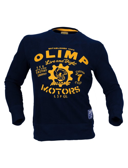 PULLOVER HELL CAT Navy