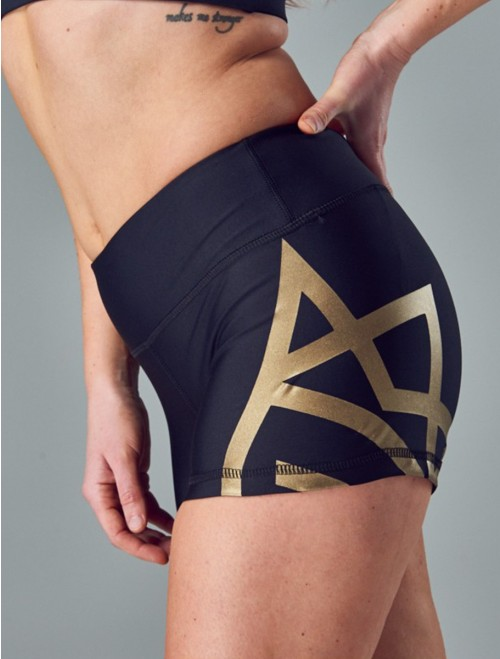 WOMEN'S SHORTS - TIGHT black