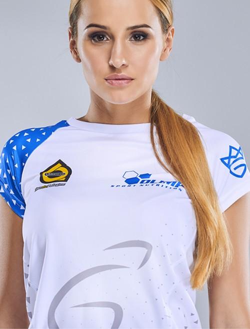 Women's T-SHIRT REGLAN TdP BLUE&WHITE