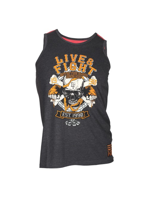 BLOODY KNUCKLES VEST Navy